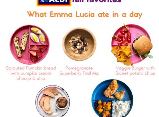 Kid-Approved Fall Favorites from ALDI-What Emma Lucia ate in 1 day