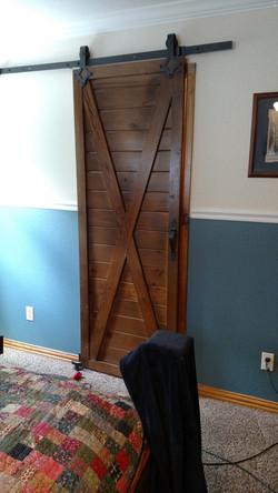 Bedroom Closet Barn Door