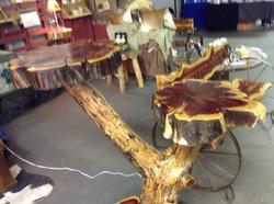 Double Top Cedar Table