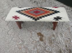 Aztec Southwest Cream Color Bench