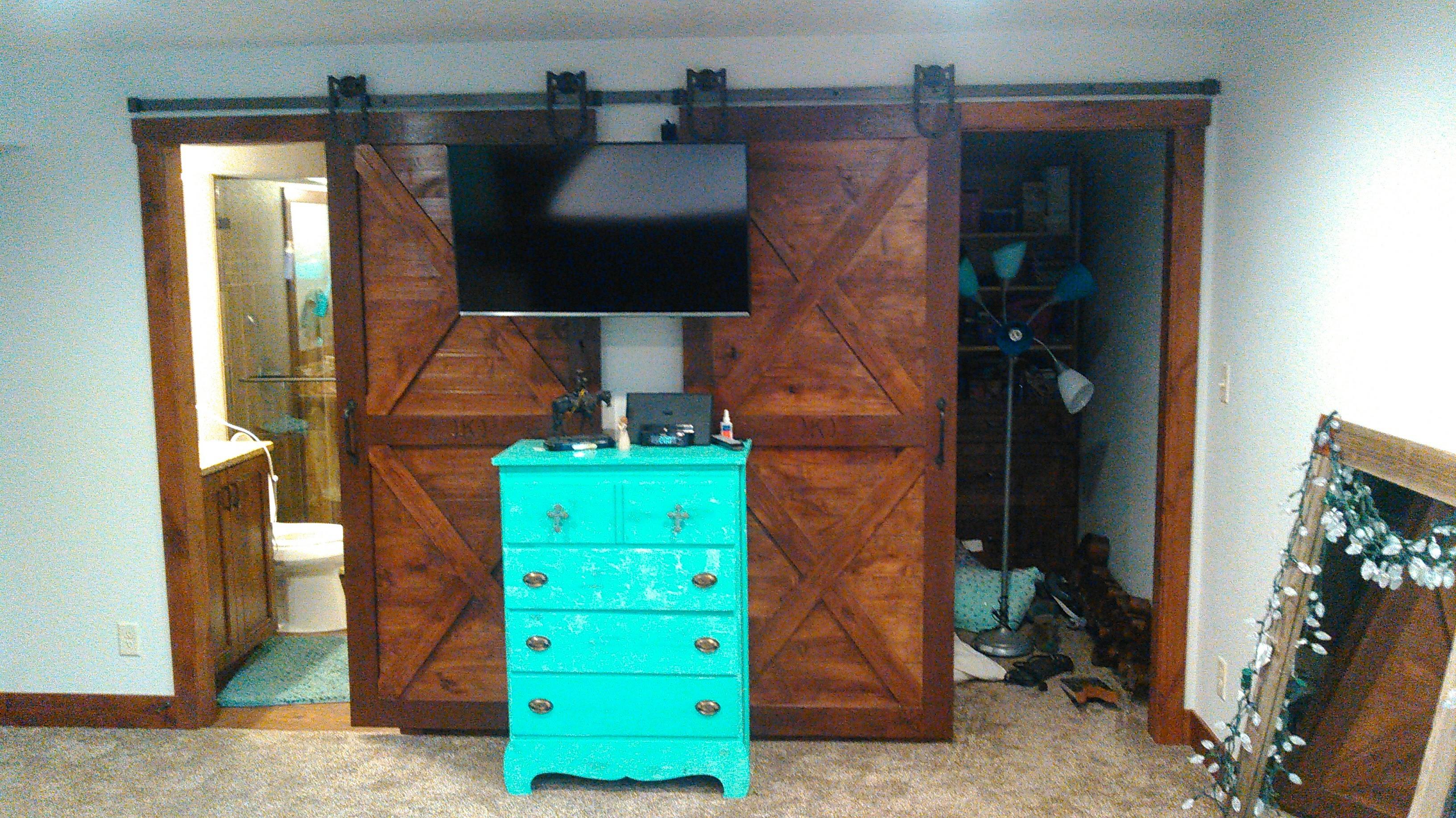 Custom Closet Barn Doors