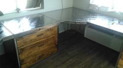 Custom Metal Counter-top