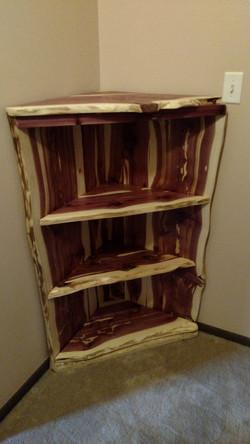 Cheyenne Cedar Corner Shelf