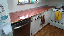 Cedar Counter Top
