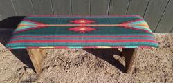 Southwest Design Covered Bench