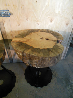 Large Disc Table