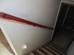 Cedar Stair Hand Rail