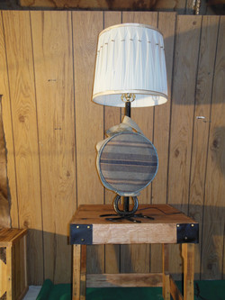 Old Canteen Lamp