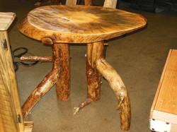 Pedestal Leg End Table