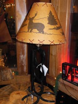Horse Shoe Lamp