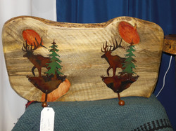 Pine with Elk Hooks