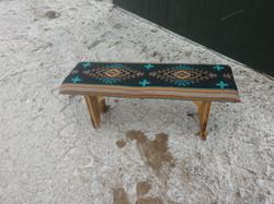 Black Southwest Design Bench