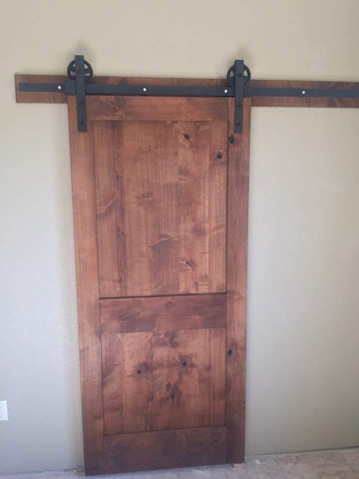 Bathroom Barn Door