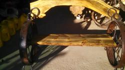 Pine Wheel Arch Bench 03