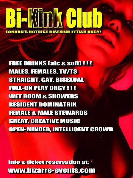 Bi-Kink Club  London's Hottest Bi-Sexual Kinky Fetish Orgy