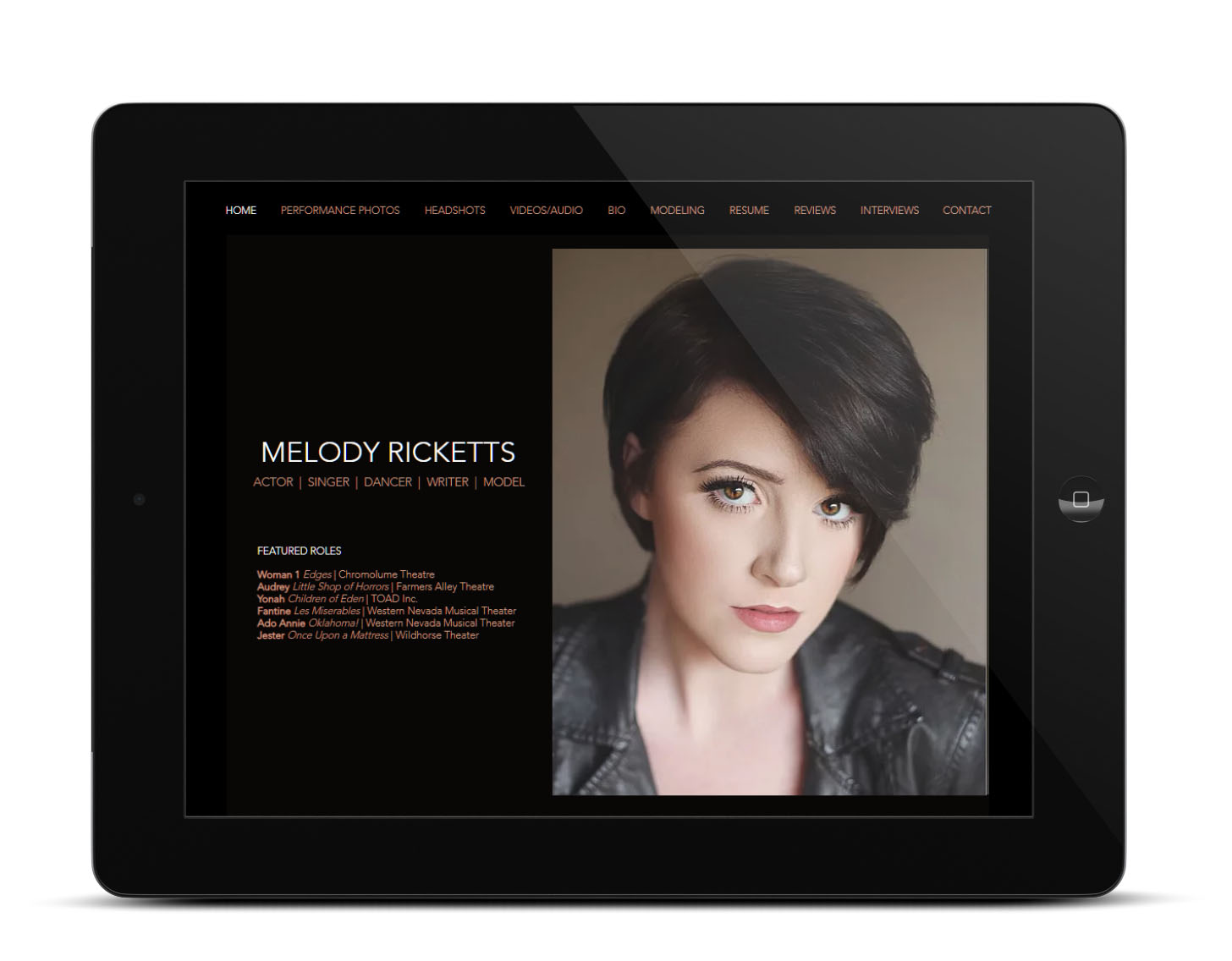 Melody Ricketts Web Site