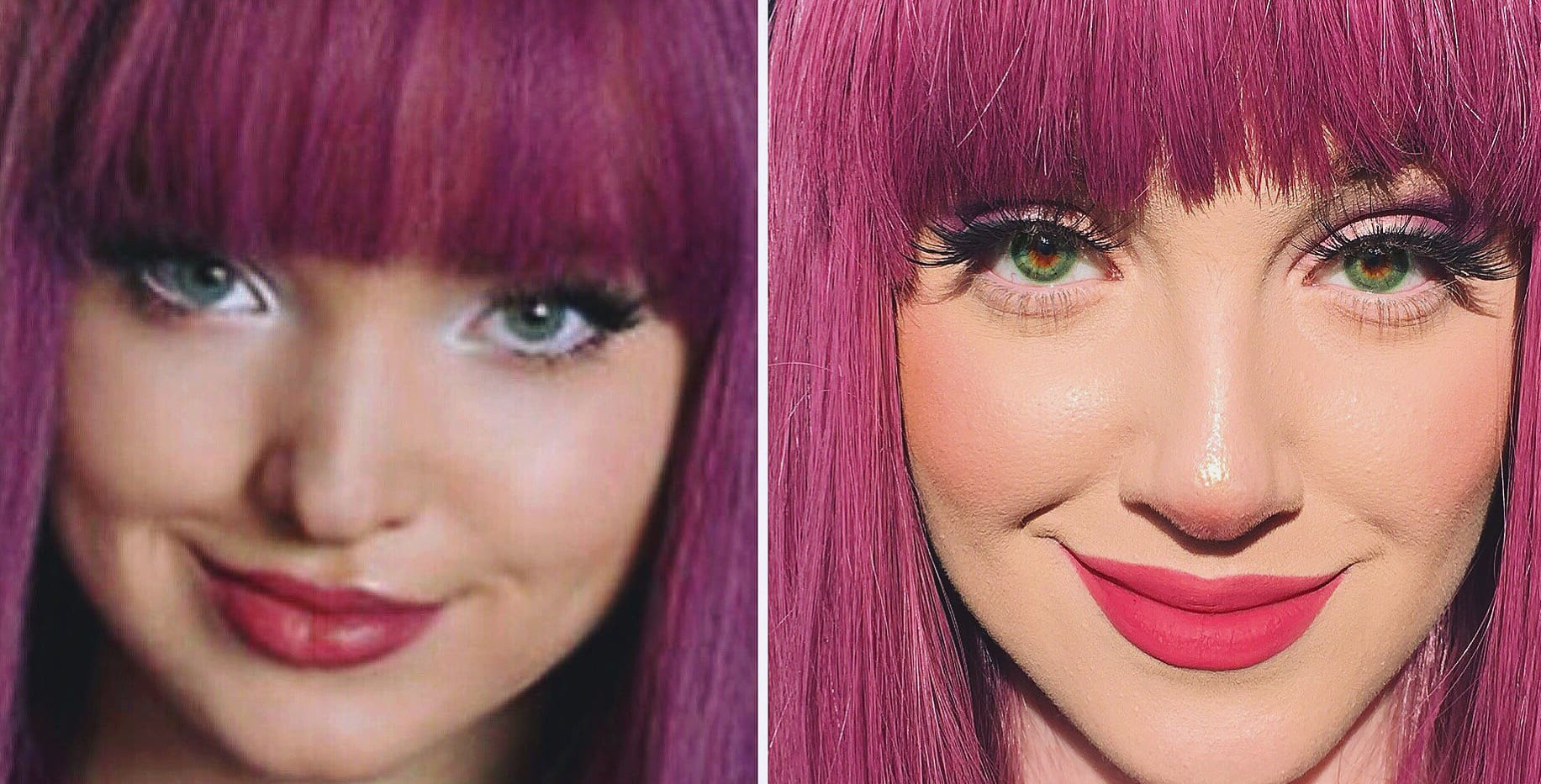 DOVE CAMERON TRANSFORMATION