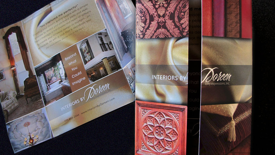 Interiors By Doreen brochure