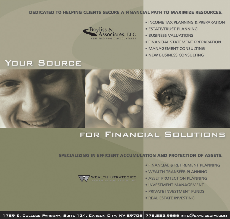 Bayliss Wealth Strategies ad