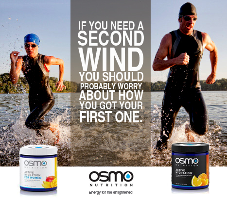 Ad concept for OSMO Nutrition