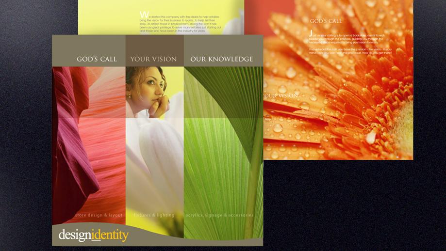 Design Identity brochure