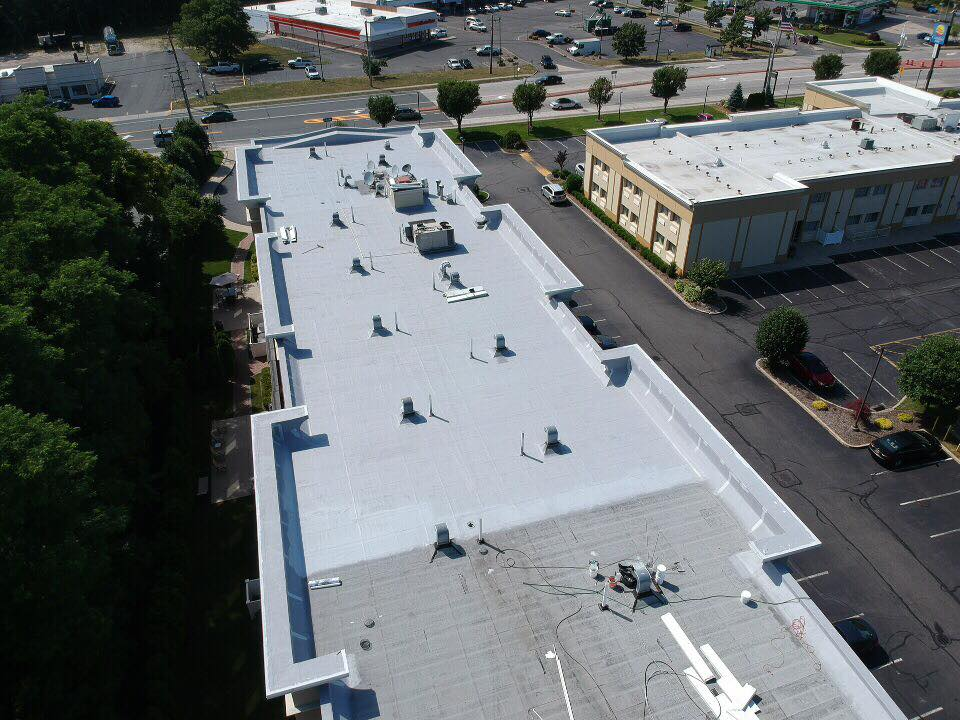 Aerial View of Basecoat, Beautiful Work