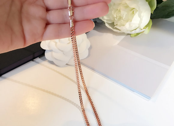 Luxe Rose Gold Plated Necklace