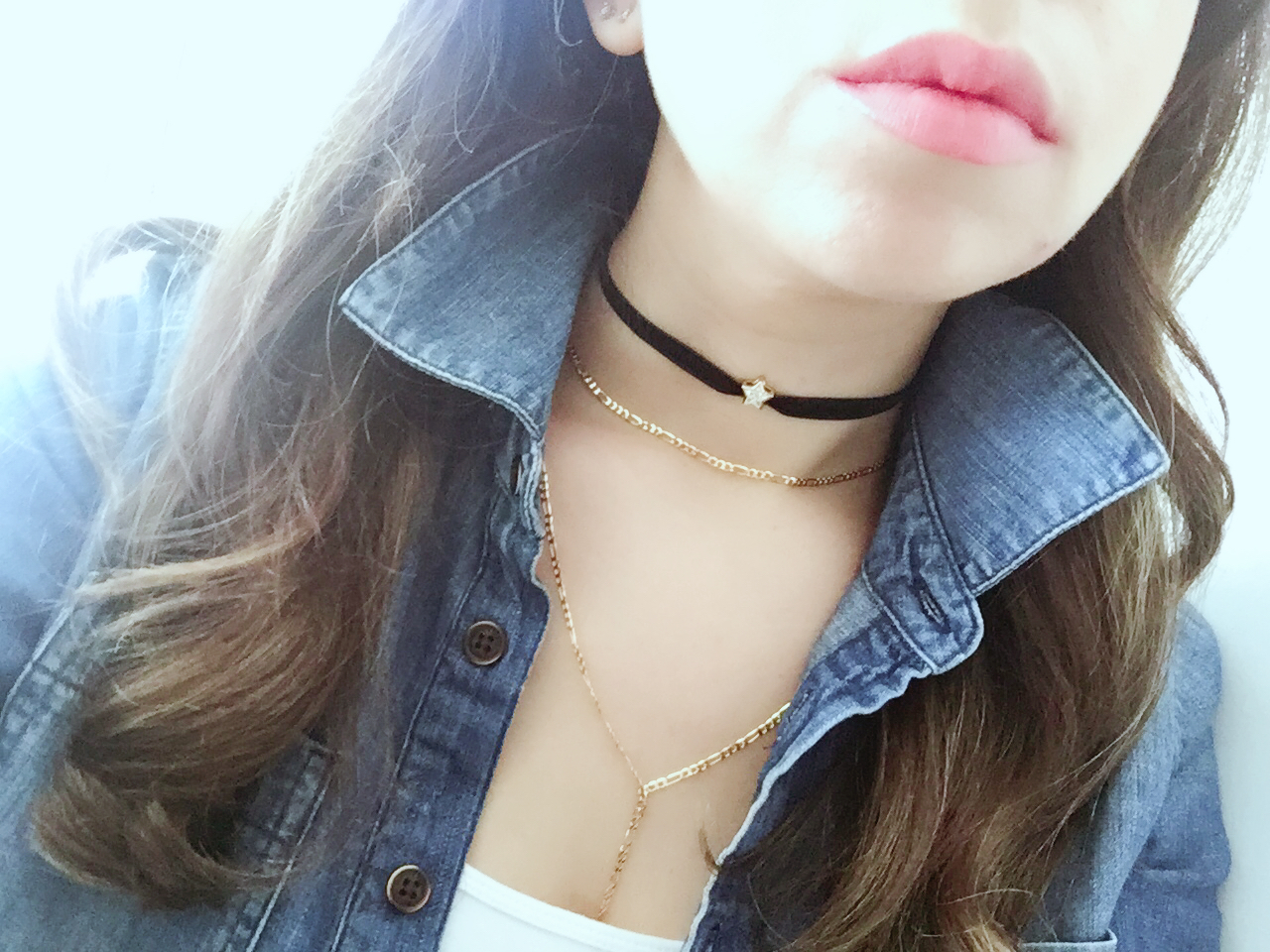 Star, Delicate Choker and Lariat