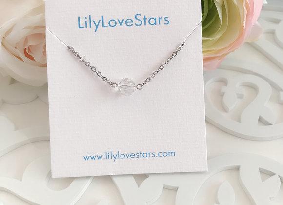 Swarovski Moonlight Crystal Silver Bracelet