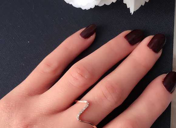 Rose Gold Swift Ring