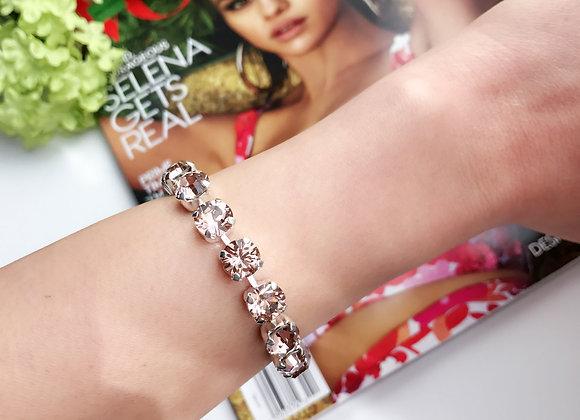Silk Sparkles Swarovski Tennis Bracelet