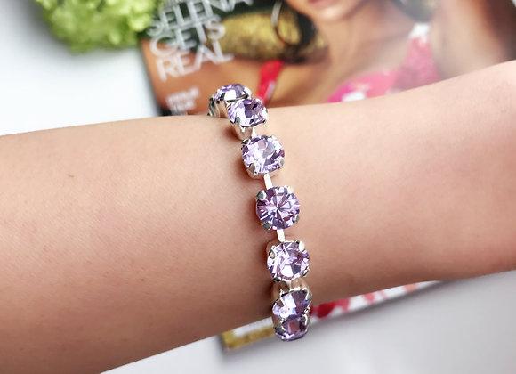 Rose Sparkles Swarovski Tennis Bracelet