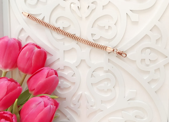 Luxe Rose Gold Plated Bracelet