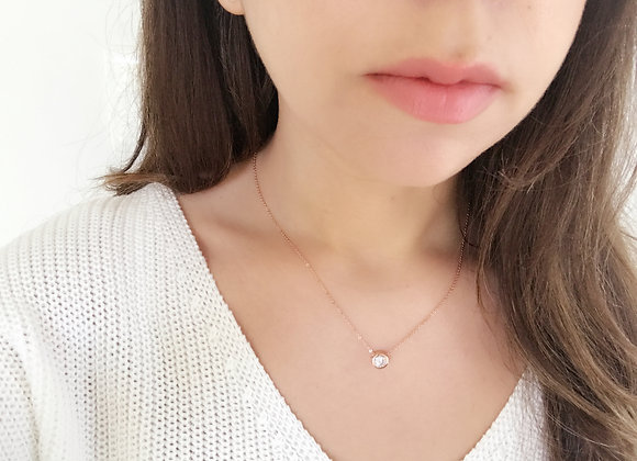 Rosy Sparkles Necklace