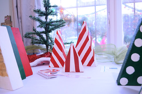Tree Set - Candy Cane