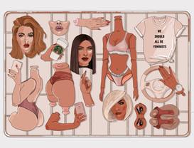 Editorial Illustration for Heroine magazine