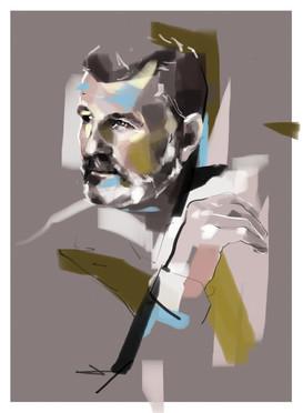 Custom made Man portrait