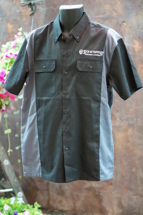 Black and Grey Mechanic Shirt