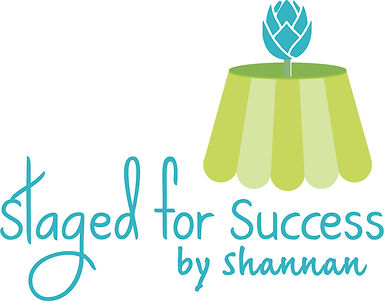 staged for success by shannan logo
