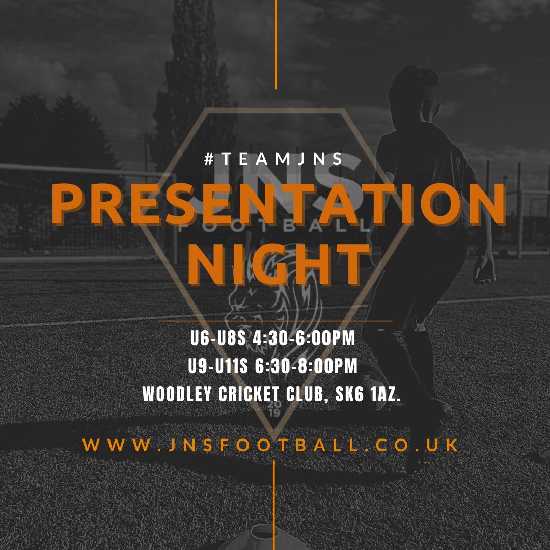 JNS Presentation Night U6-U8 (4:30-6:00)