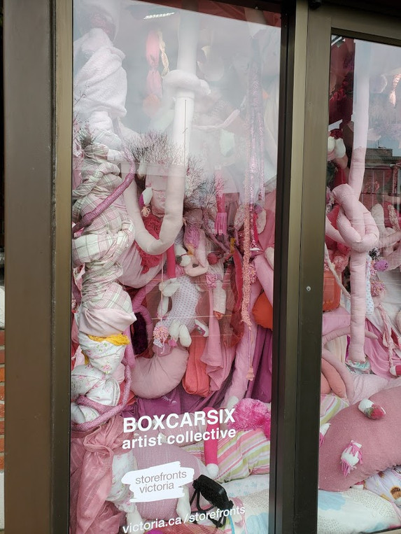 Storefronts Victoria: BOXCARSIX 'inside'