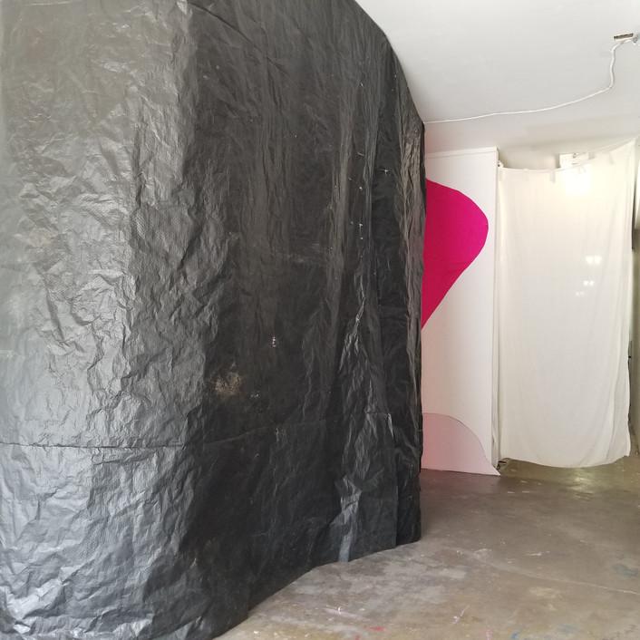 Close up gallery shot of 'inside' installation