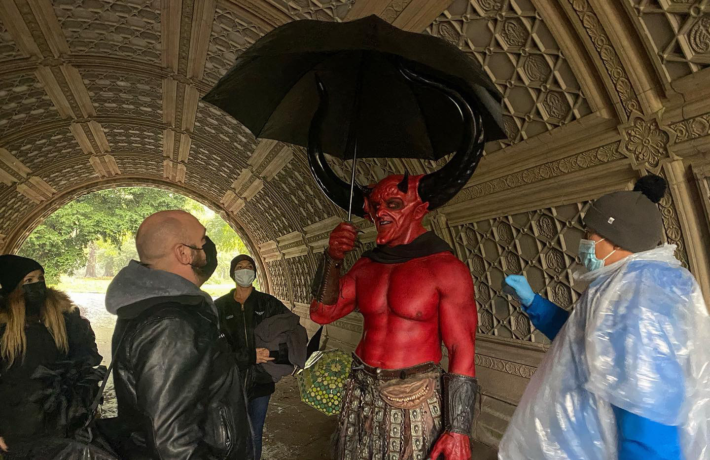 Behind the Scenes on Match Made in Hell