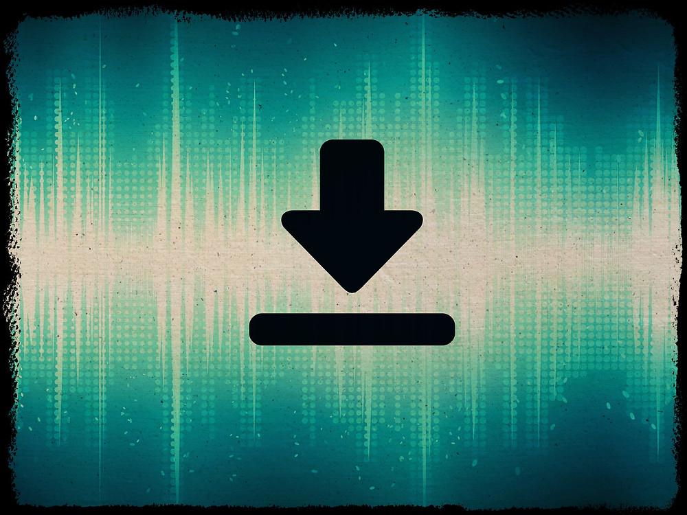 Download - ביצוע גיבוי, הורדת נתונים
