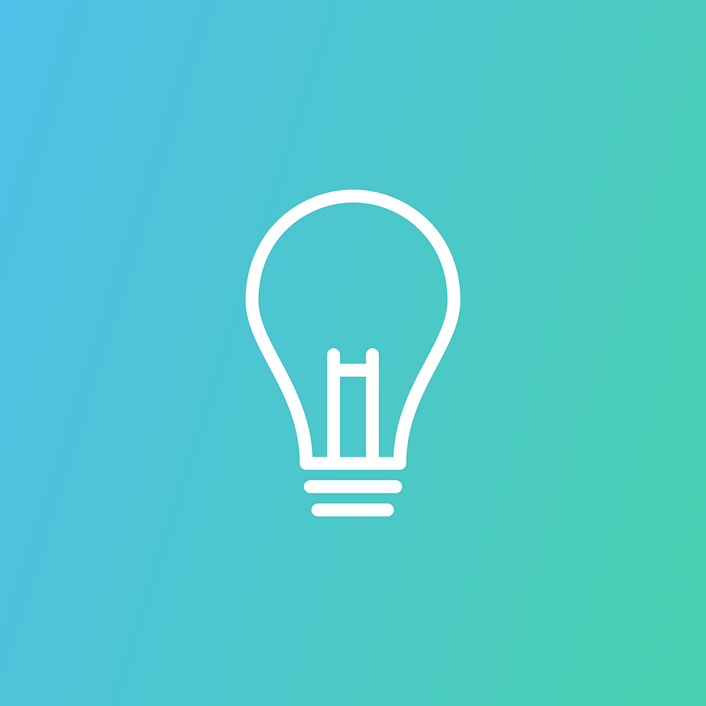 נורה - מסמלת רעיון - טיפ לקריאה מהירה