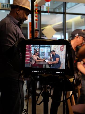 Local TV Series Filming