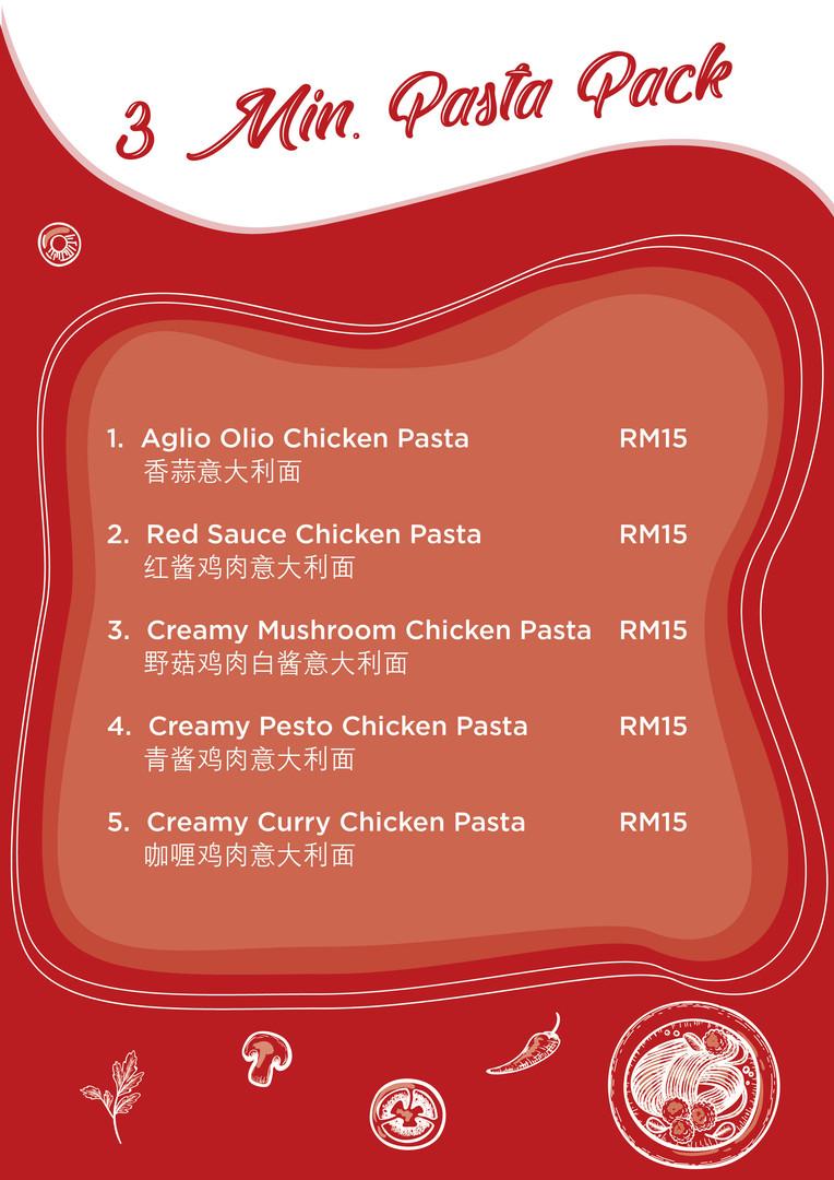 3 Min. Pasta Pack