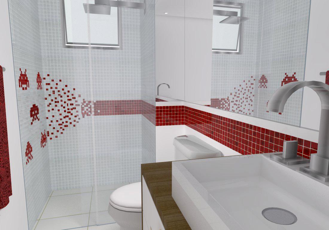 Banheiro / Lavabo - Geek