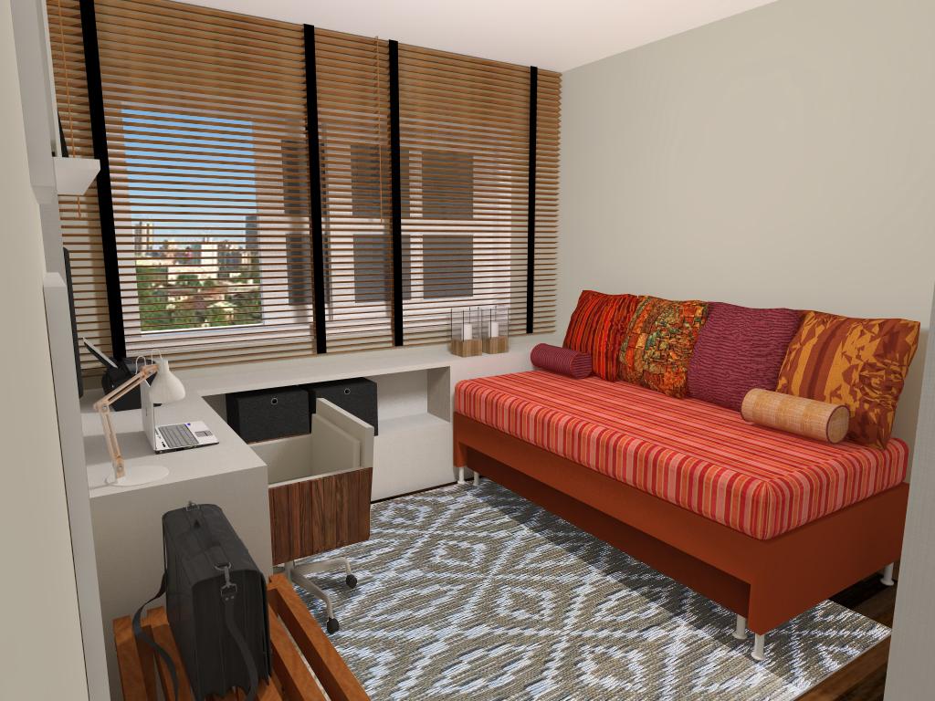 Home Office + Hospedes 01