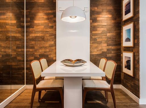 Distância certa entre Mesas e Cadeiras de Jantar